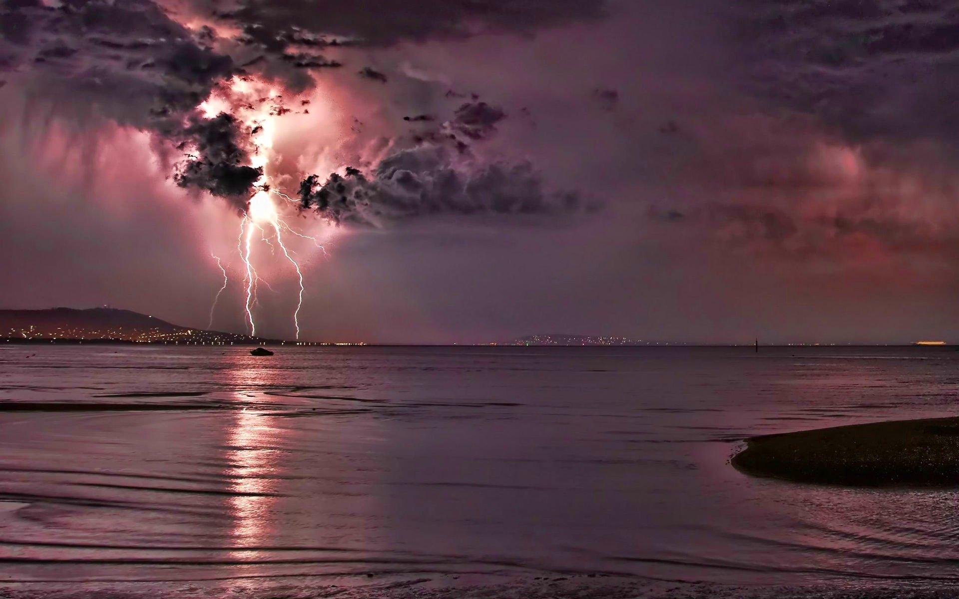 D HD Thunderstorm Wallpaper