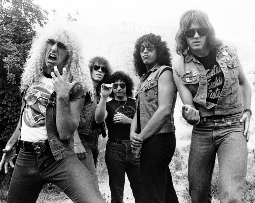 HAIR METAL heavy glam hard rock poster twisted sister wallpaper