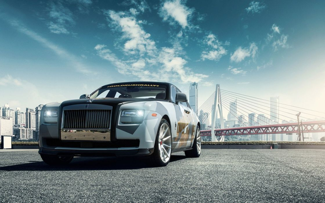2016 Vorsteiner Rolls-Royce Ghost SaRangHae cars wallpaper