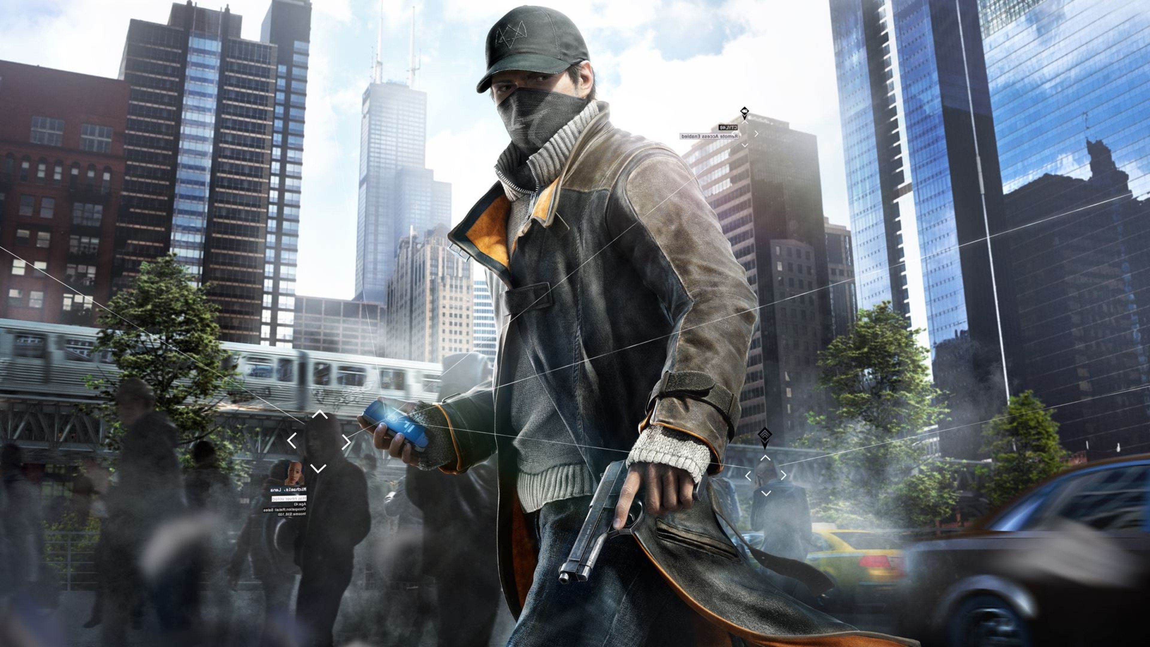 Watch Dogs  Small Character
