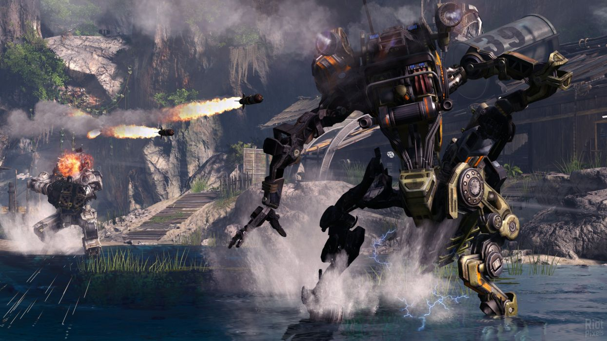 TITANFALL sci-fi mecha robot futuristic mecha warrior wallpaper
