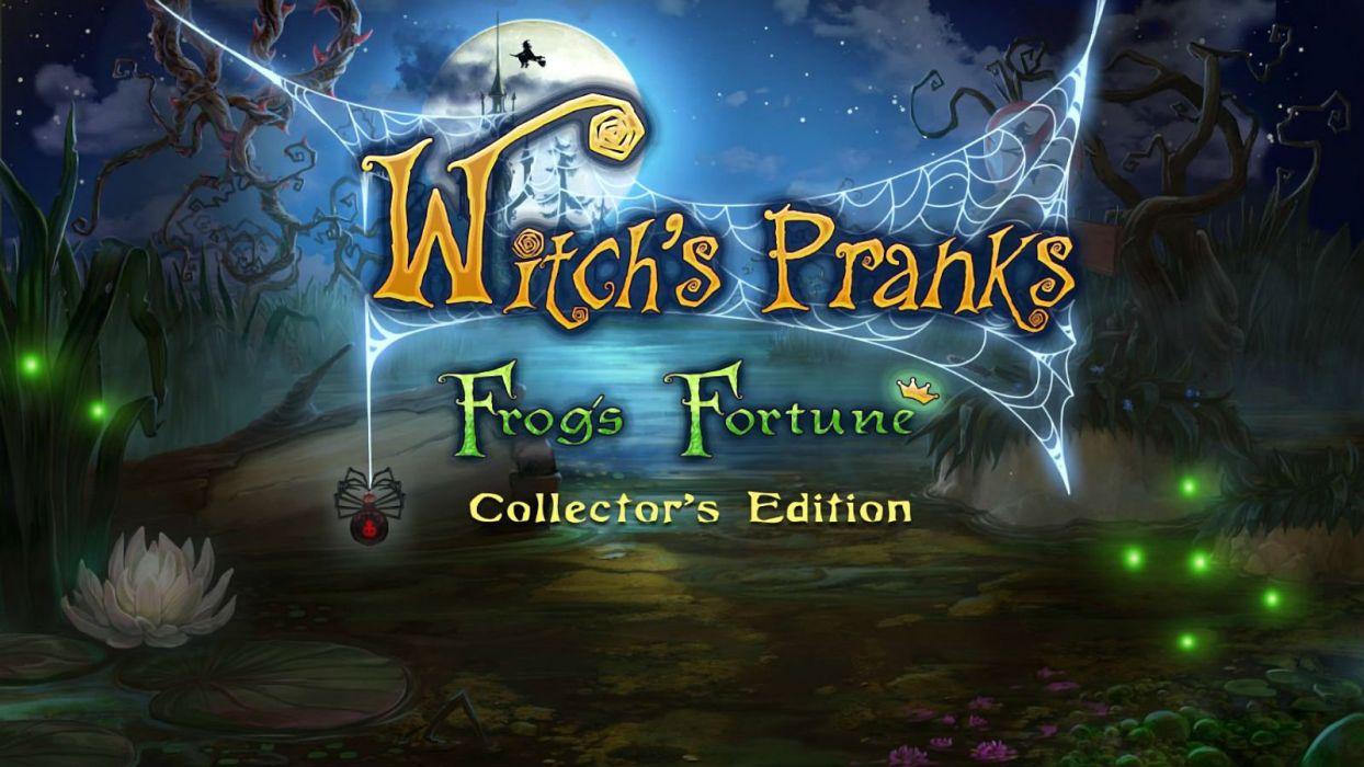 WITCHS PRANKS fantasy witch dark fantasy 1wprank adventure exploration poster wallpaper