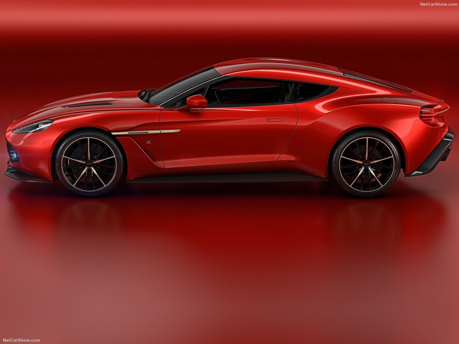 Aston Martin 2016 Vanquish Zagato Concept cars wallpaper background