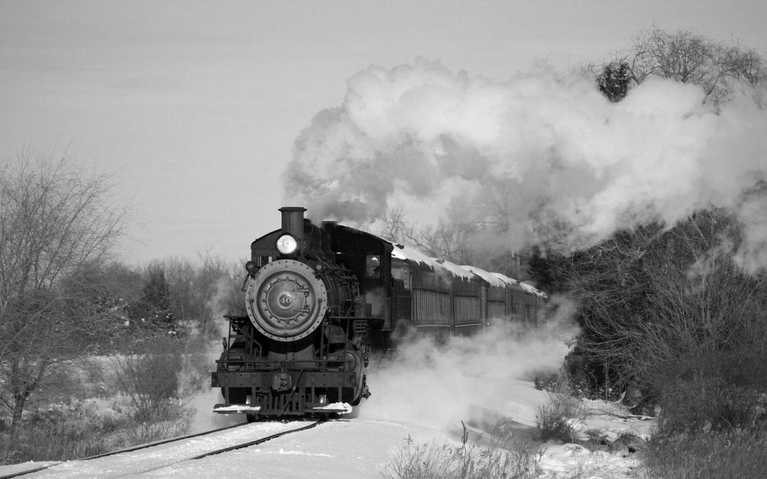 train locomotive railroad trains tractor tracks engine railway wallpaper