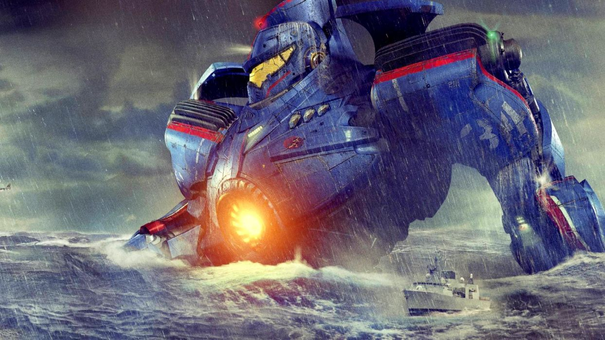 PACIFIC RIM mecha robot warrior sci-fi futuristic wallpaper