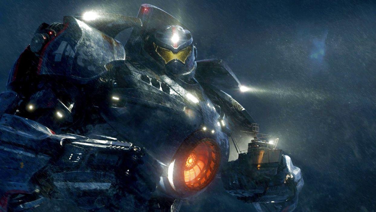 PACIFIC RIM mecha robot warrior sci-fi futuristic wallpaper