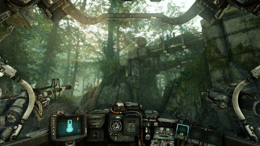 HAWKEN online mech mecha shooter robot futuristic sci-fi wallpaper
