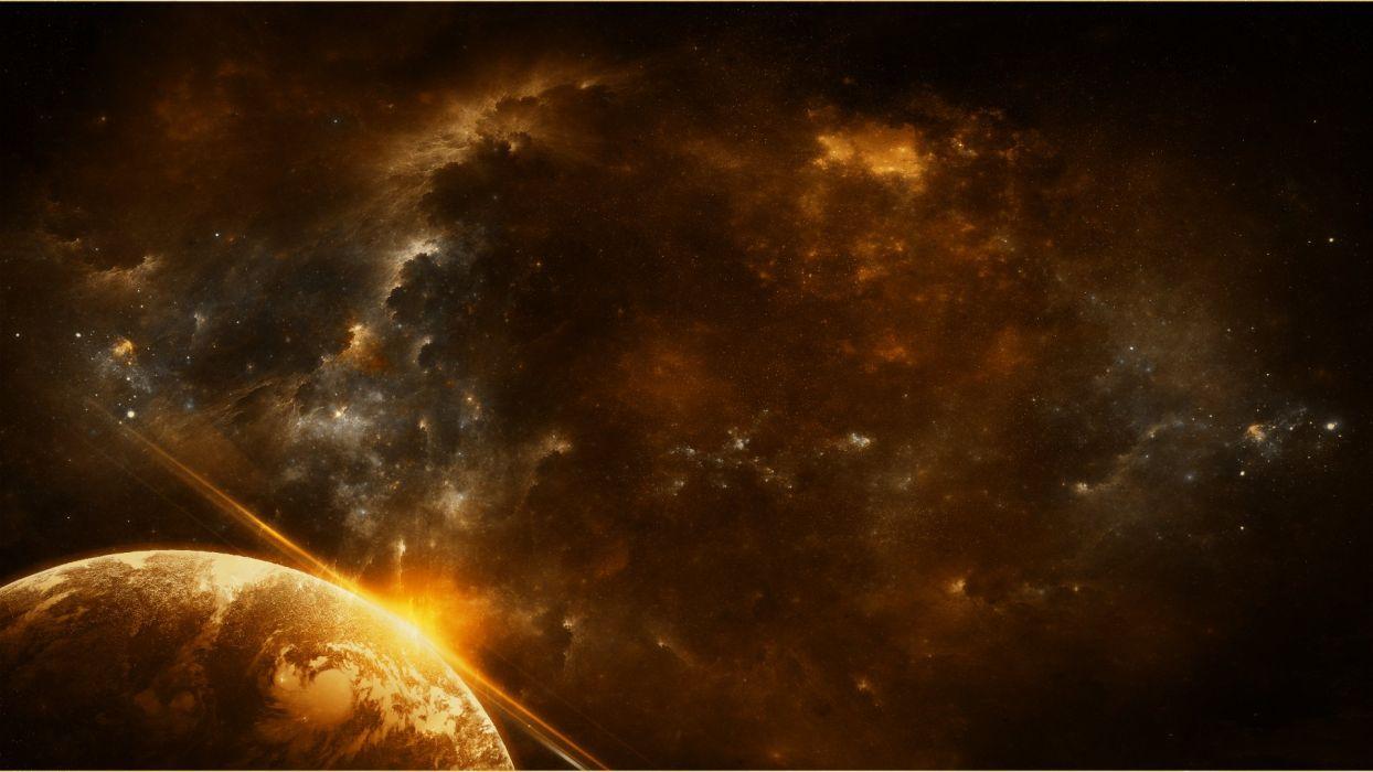 sci-fi futuristic art artwork artistic original science fiction space wallpaper