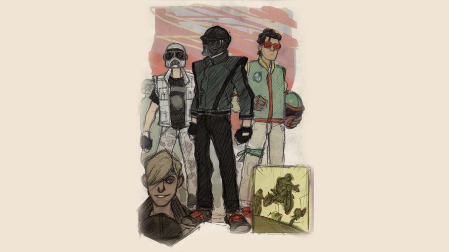 sci-fi futuristic art artwork artistic original science fiction star wars wallpaper