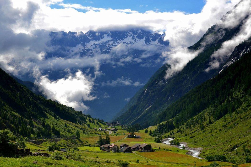 Meier Switzerland landscape nature beauty amazing mountain sky wallpaper