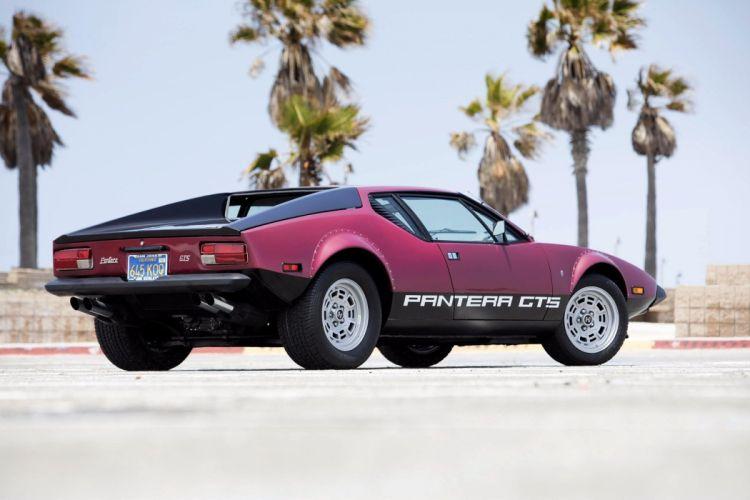 De Tomaso Pantera GTS US-spec 1974 coupe cars wallpaper