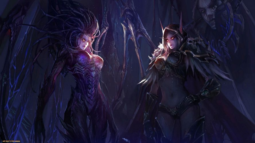 dark art artwork fantasy artistic original horror evil creepy scary spooky halloween wallpaper