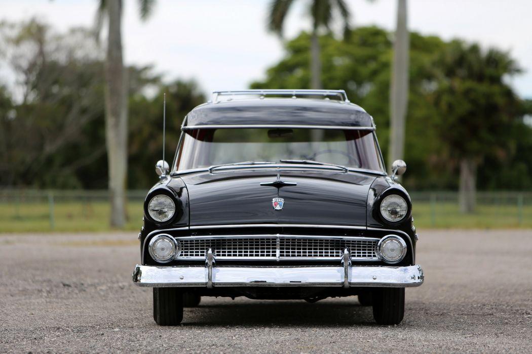 1955 Ford Country Sedan 6-passenger cars classic wallpaper