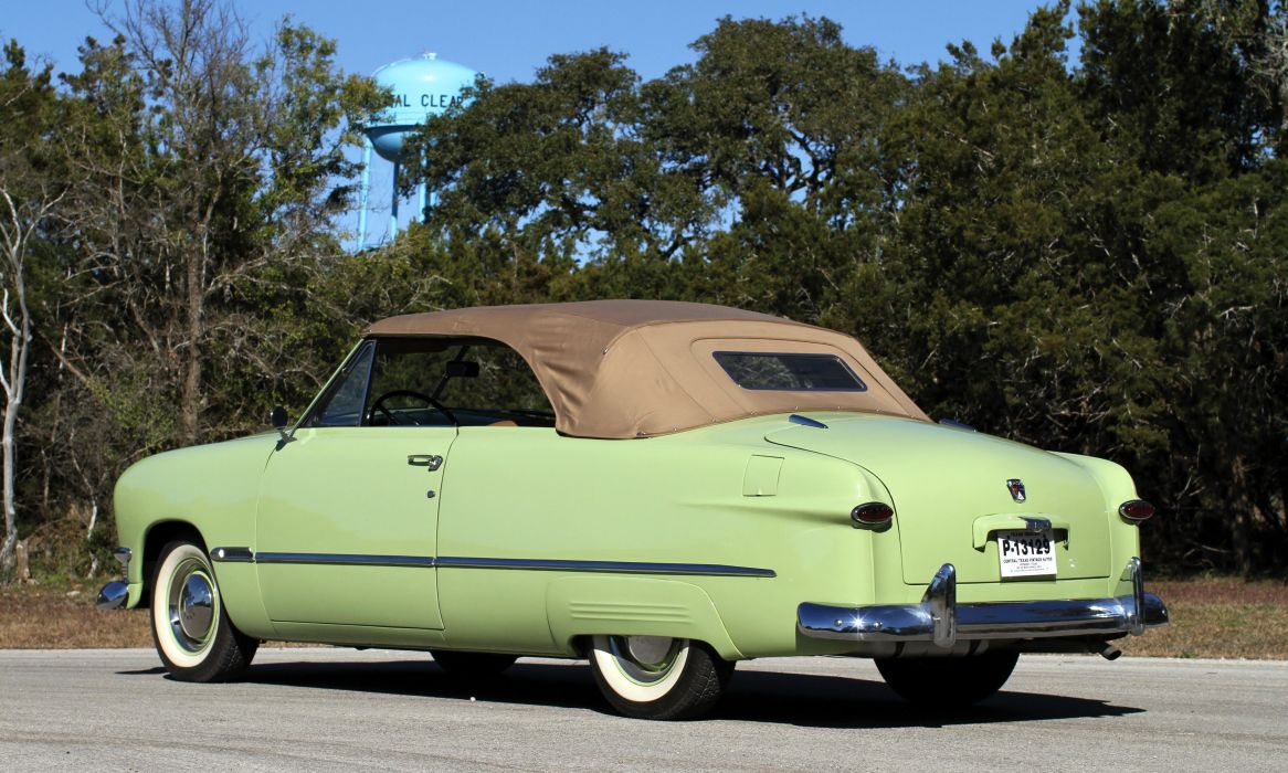 1950 Ford Custom Deluxe Convertible Coupe Cars Classic Wallpaper 4096x2459 961358 Wallpaperup