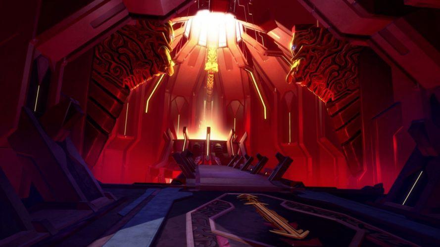BATTLEBORN shooter rpg fantasy sci-fi futuristic battle warrior action fighting mecha robot arena war wallpaper