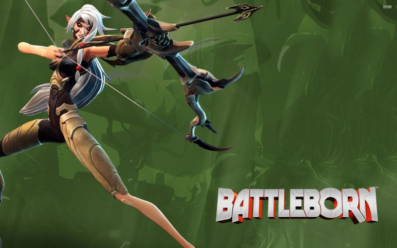 BATTLEBORN shooter rpg fantasy sci-fi futuristic battle warrior action fighting mecha robot arena war poster wallpaper