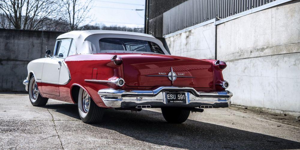1956 Oldsmobile 98 Starfire Convertible cars classic wallpaper