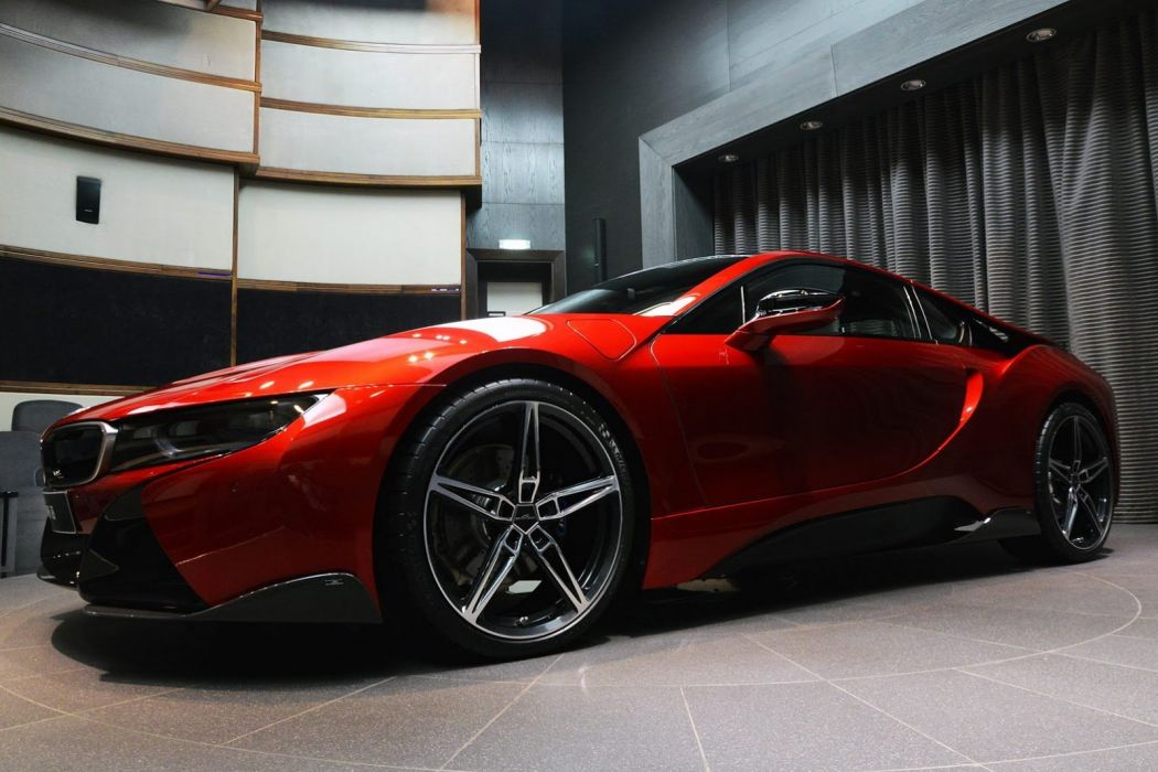 BMW i8 cars coupe electric modified wallpaper
