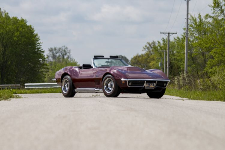 1969 Chevrolet Corvette (c3) Stingray L88 Convertible classic cars wallpaper