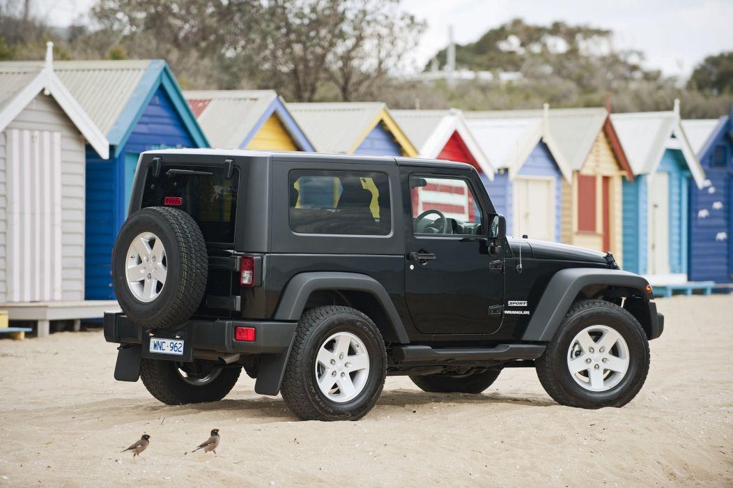 Jeep Wrangler Sport 2007 cars wallpaper