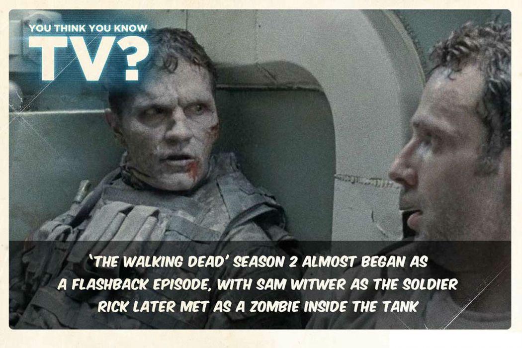 WALKING DEAD horror series dark zombie evil poster wallpaper