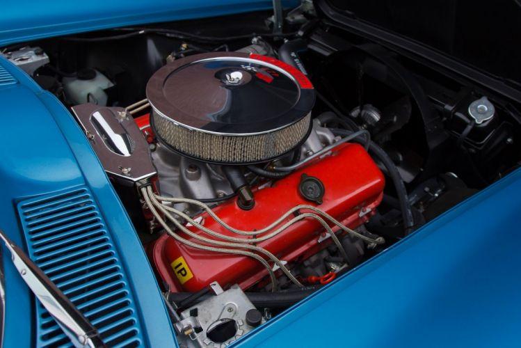 1966 Chevrolet Corvette Sting Ray L72 Convertible (c2) cars blue classic wallpaper