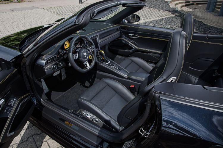TechArt Porsche 911 Turbo S Cabriolet (991) cars modified wallpaper
