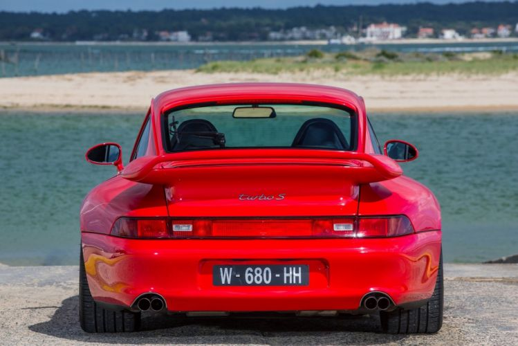 Porsche 911 Turbo S Coupe (993) cars red 1997 wallpaper
