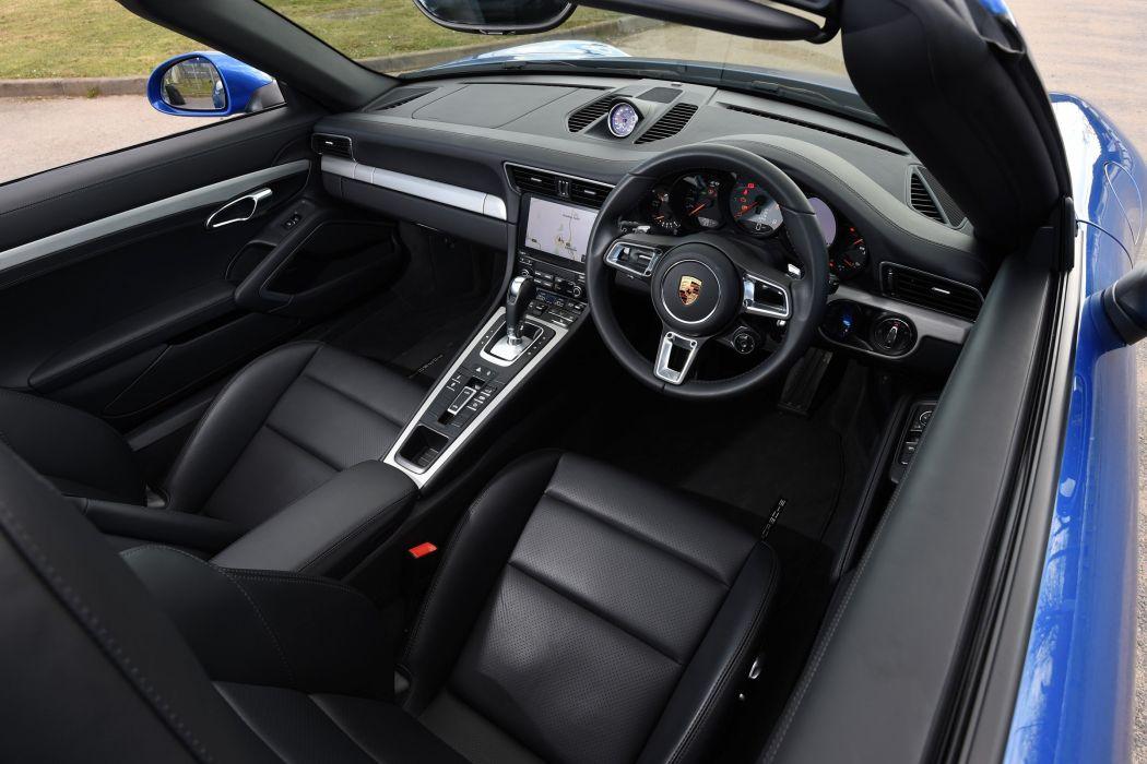 Porsche 911 Targa 4S UK-spec Coupe (991) cars 2016 wallpaper