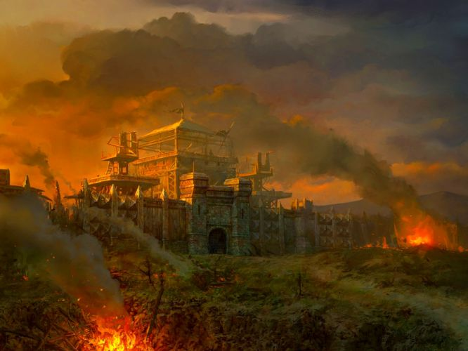 LINEAGE fantasy art artwork artistic mmo online rpg warrior wallpaper