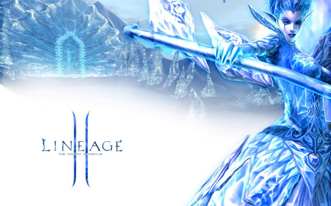LINEAGE fantasy art artwork artistic mmo online rpg warrior poster wallpaper