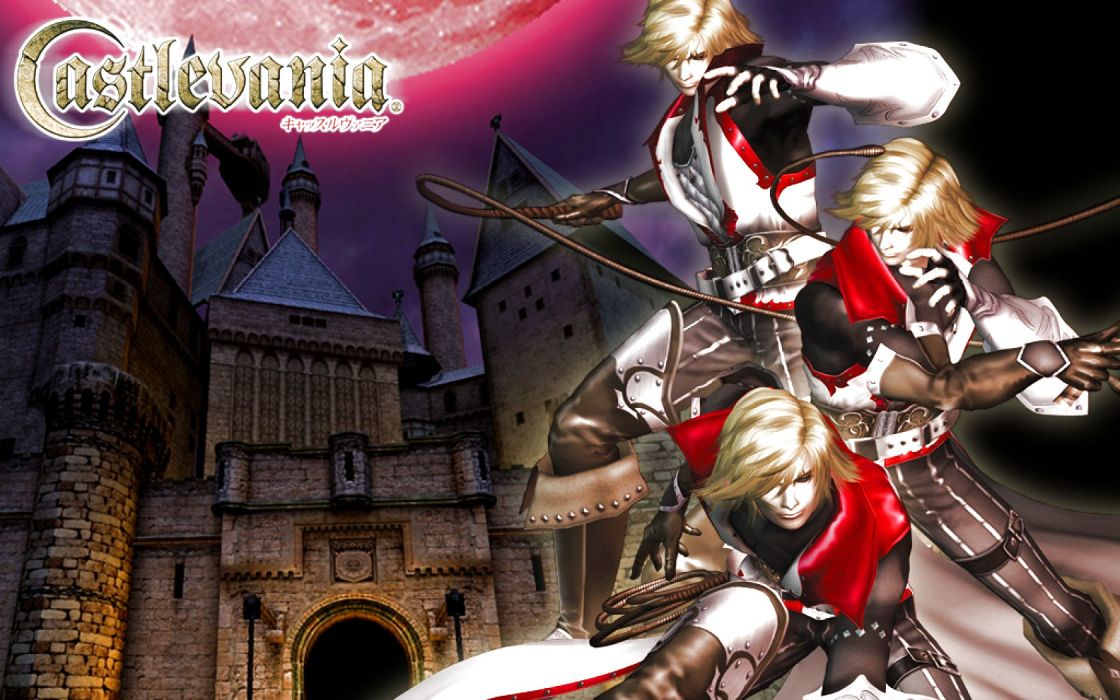 CASTLEVANIA fantasy dark vampire horror evil warrior gothic poster wallpaper