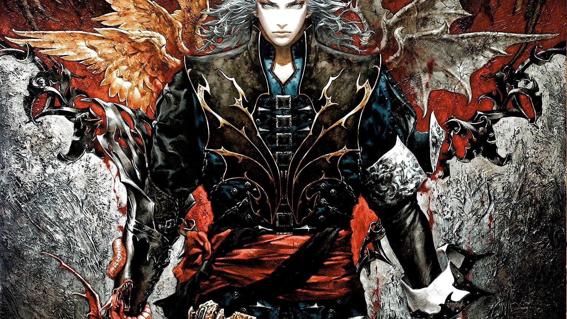castlevania fantasy dark vampire horror evil warrior