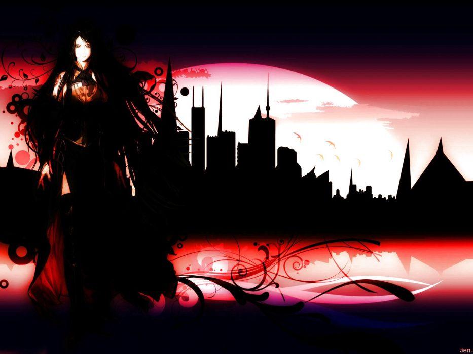 CASTLEVANIA fantasy dark vampire horror evil warrior gothic wallpaper