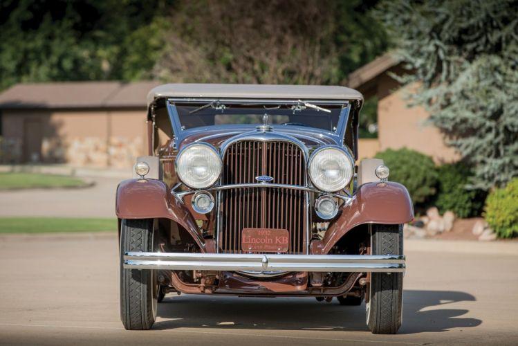 1932 Lincoln Model KB Dual Windshield Phaeton cars retro wallpaper