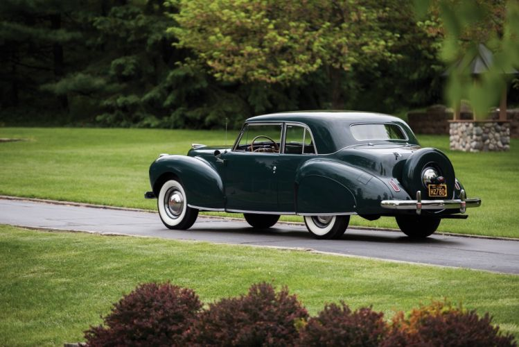 1941 Lincoln Continental Coupe cars classic wallpaper