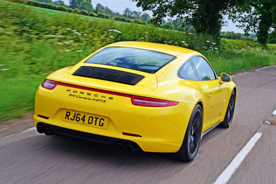 Porsche 911 Carrera 4 GTS Coupe UK-spec (991) cars coupe 2014 wallpaper