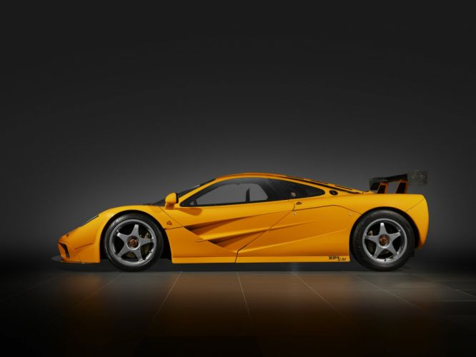 McLaren F1 LM XP1 cars coupe 1995 wallpaper