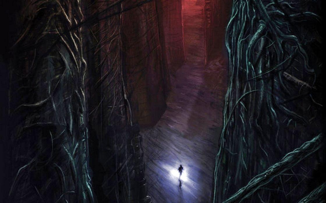 dark art artwork fantasy artistic original horror evil creepy scary spooky halloween wallpaper