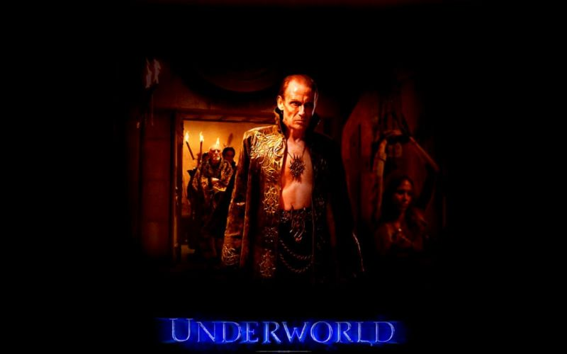 UNDERWORLD action fantasy vampire dark gothic warrior poster wallpaper
