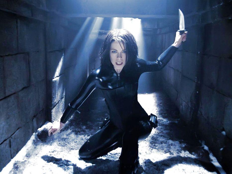 UNDERWORLD action fantasy vampire dark gothic warrior wallpaper