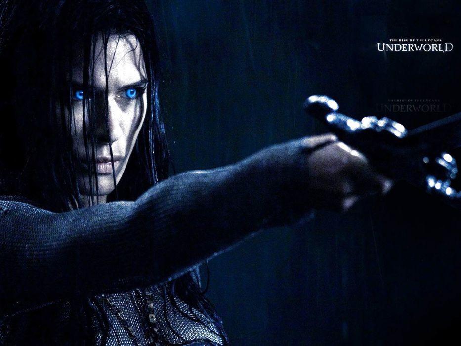UNDERWORLD action fantasy vampire dark gothic warrior poster wallpaper