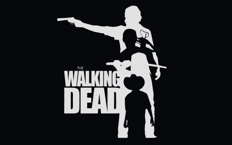 WALKING DEAD horror series dark zombie evil poster wallpaper