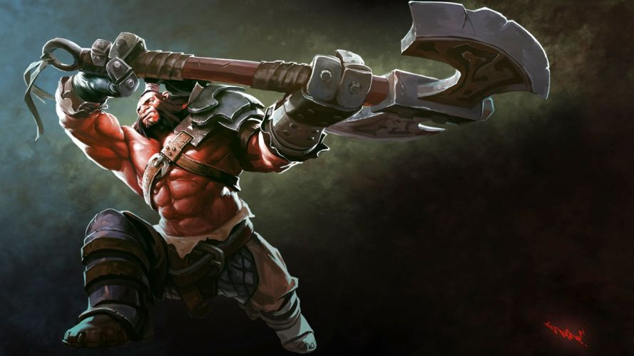 DOTA fantasy mmo online battle arena action fighting warrior wallpaper