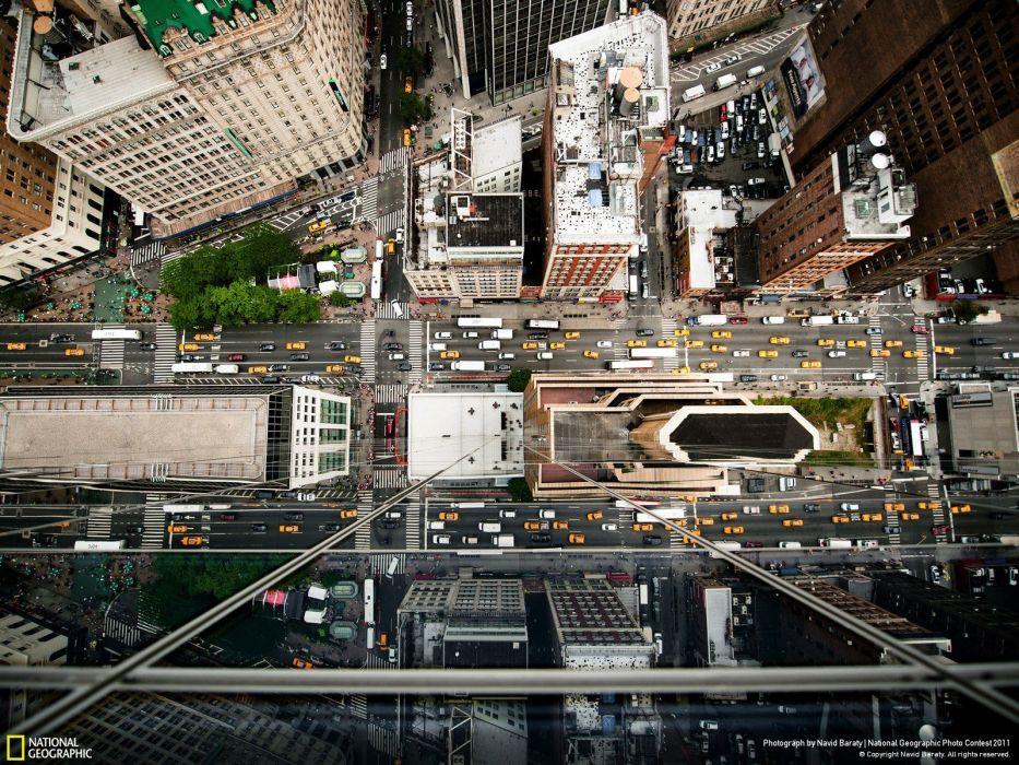 new york city beauty cars traffic wallpaper