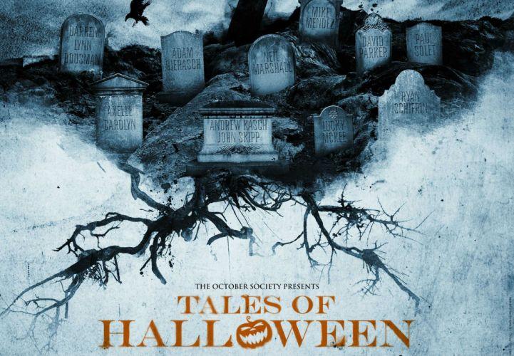 TALES Of HALLOWEEN horror comedy dark poster wallpaper