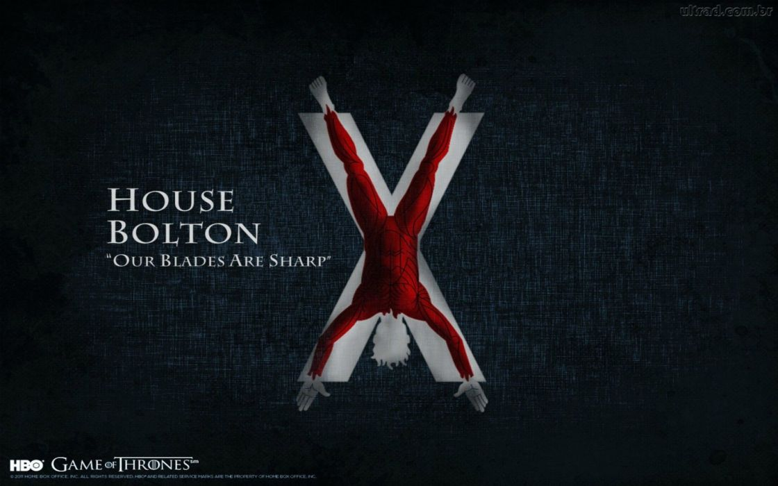 game of thrones bolton serial wallpaper