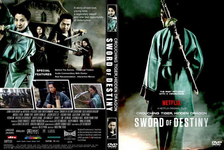CROUCHING TIGER HIDDEN DRAGON fantasy drama martial action fighting warrior poster wallpaper