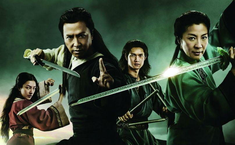 CROUCHING TIGER HIDDEN DRAGON fantasy drama martial action fighting warrior wallpaper
