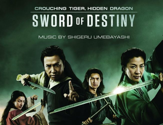 CROUCHING TIGER HIDDEN DRAGON fantasy drama martial action fighting warrior poster wallpaper